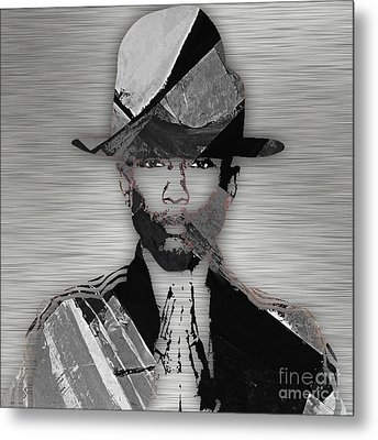 Pharrell Williams Collection Metal Print by Marvin Blaine