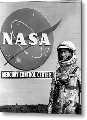 Scott Carpenter Metal Print