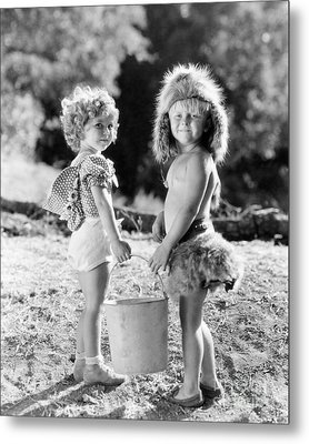 Shirley Temple And Gang Metal Print by MMG Archives