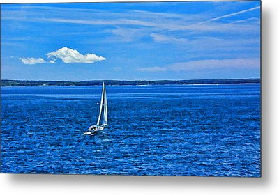 7316-bar-harbor Metal Print