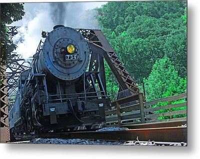 Metal Print featuring the photograph 734 by Mike Flynn