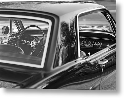 1965 Shelby Prototype Ford Mustang Metal Print by Jill Reger