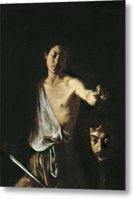 Caravaggio, Michelangelo Merisi Da Metal Print by Everett
