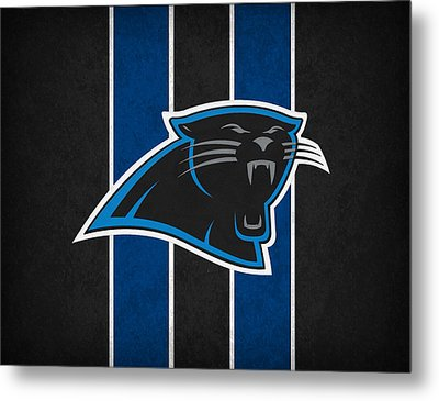 Carolina Panthers Metal Print by Joe Hamilton