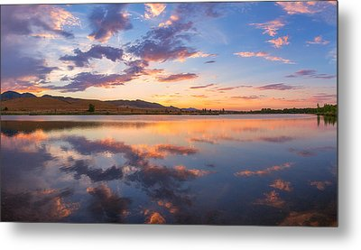 8 Dollar Sunset Metal Print by Darren  White