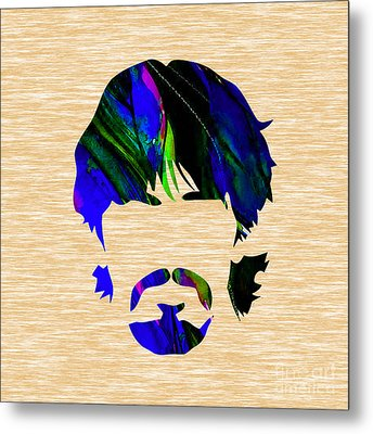 George Harrison Collection Metal Print by Marvin Blaine