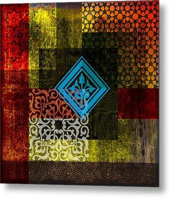 Islamic Motif 01 Metal Print by Corporate Art Task Force