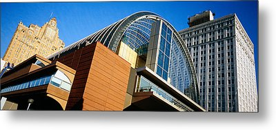 Low Angle View Of Buildings In A City Metal Print by Panoramic Images