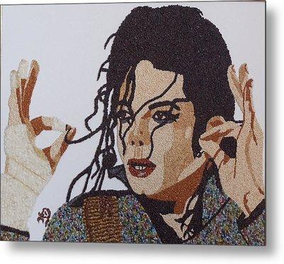 Michael Jackson Metal Print by Kovats Daniela