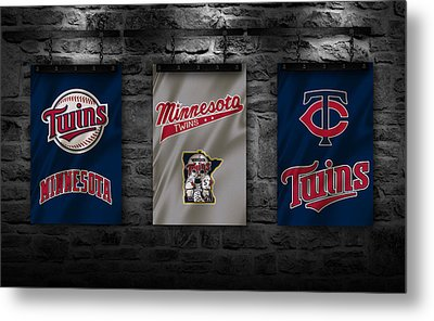 Minnesota Twins Metal Print by Joe Hamilton