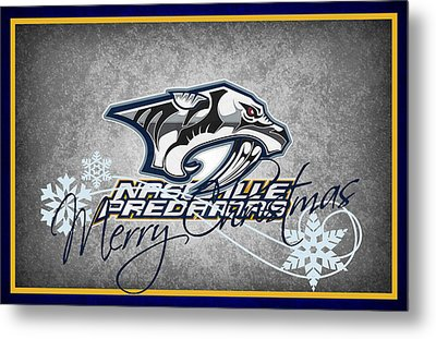 Nashville Predators Metal Print by Joe Hamilton