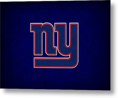 New York Giants Metal Print by Joe Hamilton