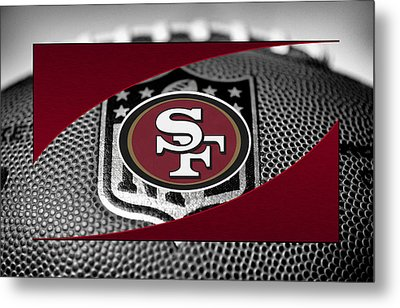 San Francisco 49ers Metal Print