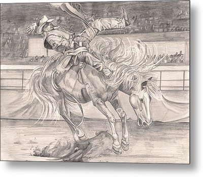 8 Seconds Metal Print by Beverly Marshall