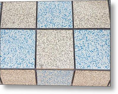 Tiles Metal Print by Tom Gowanlock