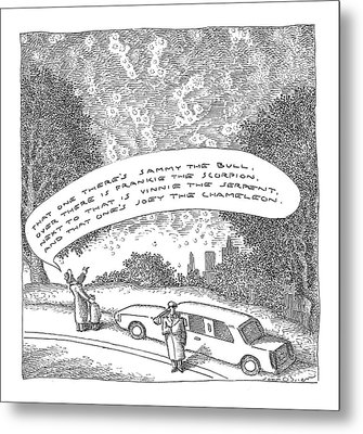 New Yorker May 23rd, 2005 Metal Print