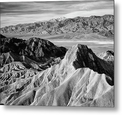Usa, California, Death Valley National Metal Print