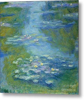 Waterlilies Metal Print by Claude Monet