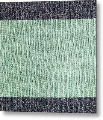 Wool Background Metal Print by Tom Gowanlock