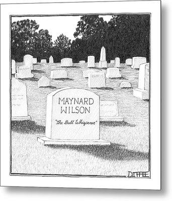 New Yorker June 5th, 2006 Metal Print
