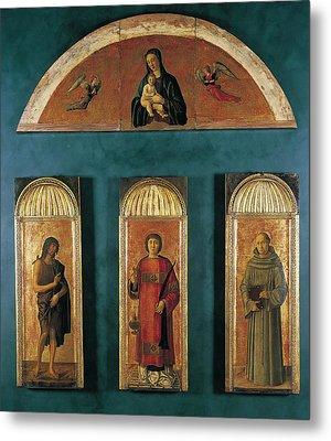 Italy, Veneto, Venice, Accademia Art Metal Print by Everett