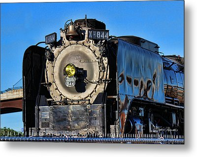 844 Locomotive Metal Print