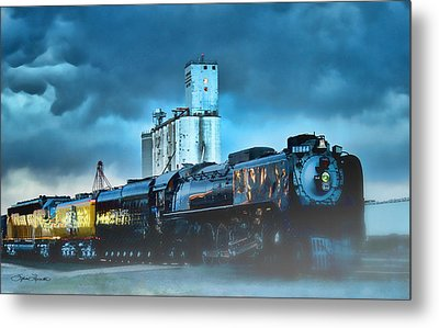 844 Night Train Metal Print