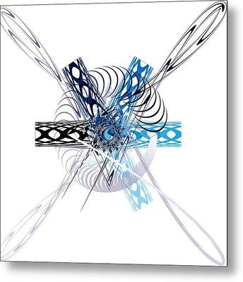 Abstract Metal Print by Bogdan Floridana Oana
