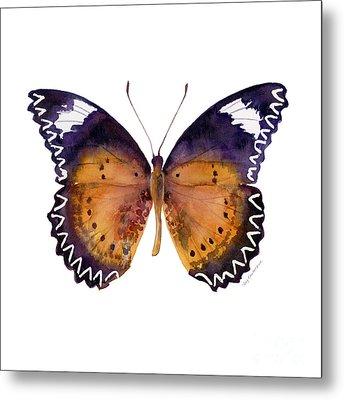 87 Cethosia Cyane Butterfly Metal Print