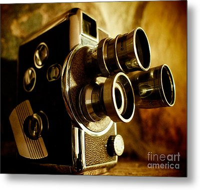 8mm Metal Print by Mark Miller