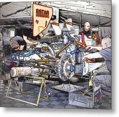 8star Motorsports Metal Print