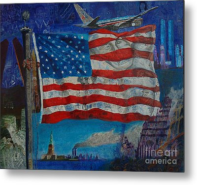 9/11 Metal Print by Mark Smith