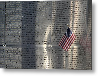 9-11 Memorial Rocky Point New York Metal Print by Bob Savage