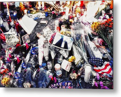 9-11 Wtc  Metal Print by Nishanth Gopinathan