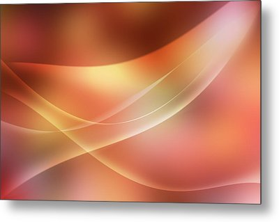 Abstract  Metal Print by Les Cunliffe
