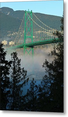 Canada, British Columbia, Vancouver Metal Print by Rick A Brown