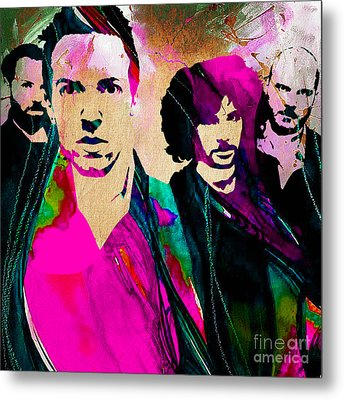 Coldplay Collection Metal Print