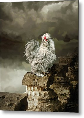 9. Cuckoo Angela Metal Print
