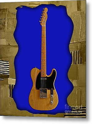 Fender Telecaster Collection Metal Print by Marvin Blaine