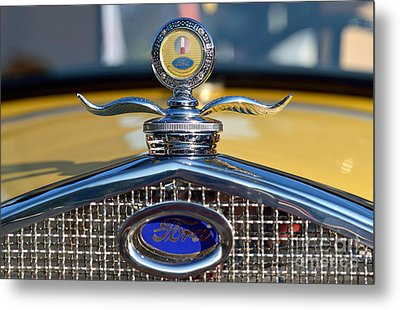 1930 Ford Model A Coupe Metal Print