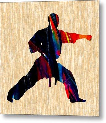 Martial Arts Karate Metal Print