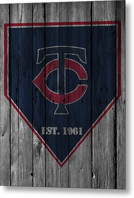 Minnesota Twins Metal Print