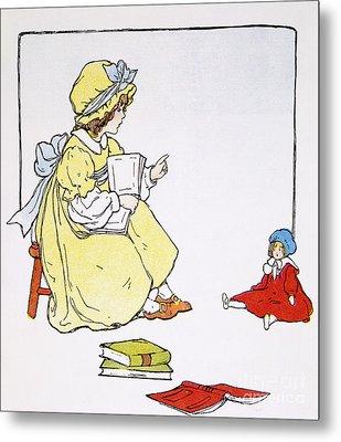 Mother Goose, 1916 Metal Print by Granger