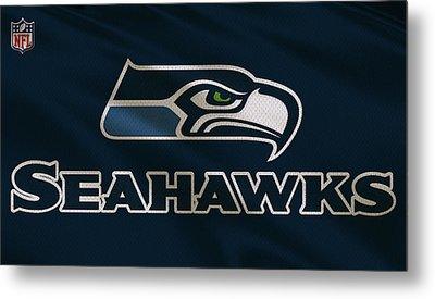 Seattle Seahawks Uniform Metal Print by Joe Hamilton