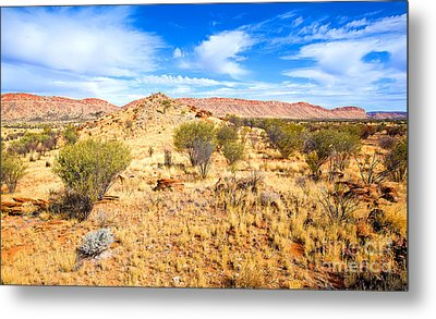 West Mcdonnell Ranges Larapinta Drive Metal Print