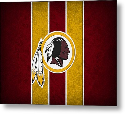 Washington Redskins Metal Print by Joe Hamilton