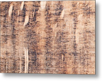 Wood Background Metal Print by Tom Gowanlock