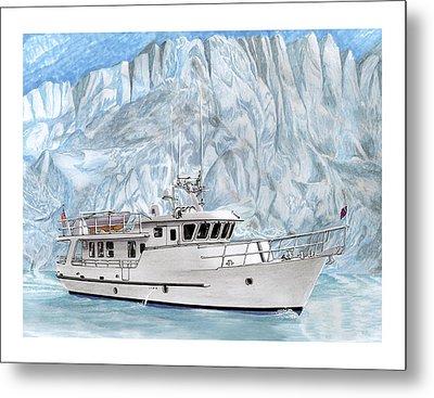 World Cruising 65 Foot Yacht Metal Print