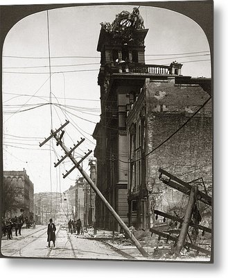 San Francisco Earthquake Metal Print