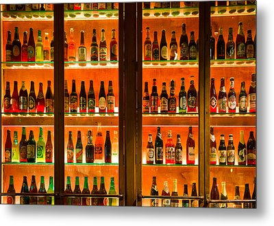 99 Bottles Of Beer On The Wall Metal Print by Semmick Photo